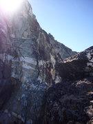 Rock Climbing Photo: Climbing on the ridge