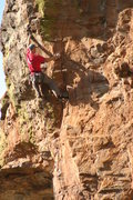 Rock Climbing Photo: EFR cruises the final bit of business