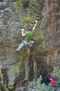 Rock Climbing Photo: Vince feeling green with envy.