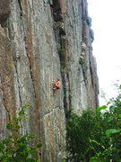 Rock Climbing Photo: Still a project...