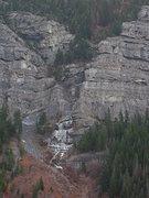 Rock Climbing Photo: 2009-10-28 The Fang
