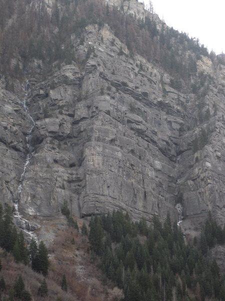 Rock Climbing Photo: 2009-10-28 Post Nasal Drip & Miller's Thriller