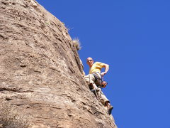 Rock Climbing Photo: Ahh, the end feels so nice.
