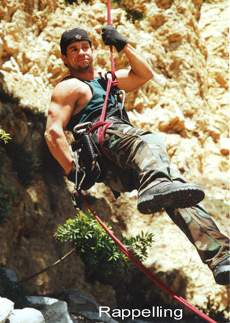 Rock Climbing Photo: Sport Repelling