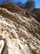 Rock Climbing Photo: Looking up at White Noise (left) and Daily Grind (...