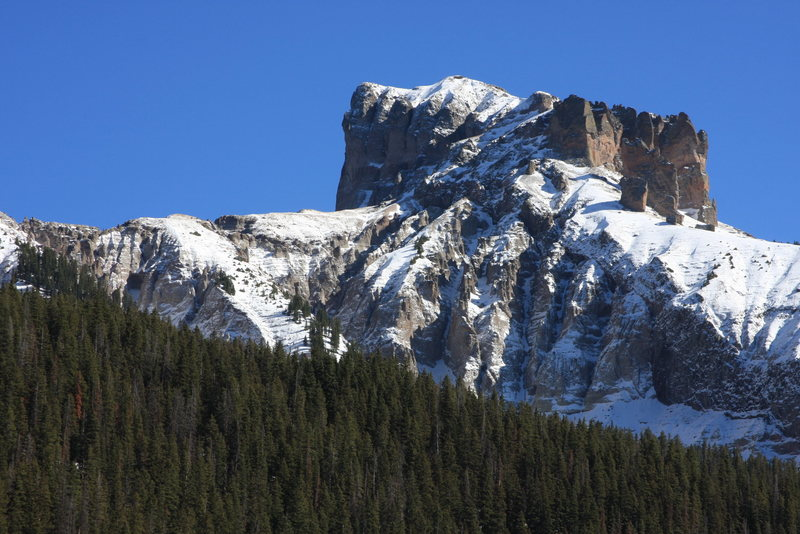 Precipice Peak, 13,144, is also well armed with adventure climbing potential.