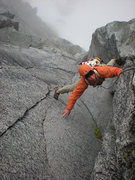 Rock Climbing Photo: Pitch #3 woo hoo