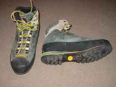 Rock Climbing Photo: La Sportiva Trango Boot