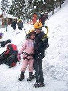 Rock Climbing Photo: Climbing kids