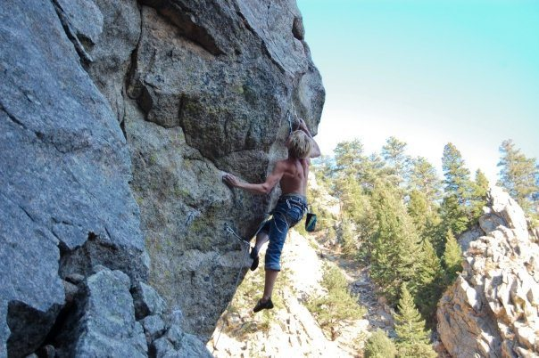 Rock Climbing Photo: some really classic 12.d in boulder canyon