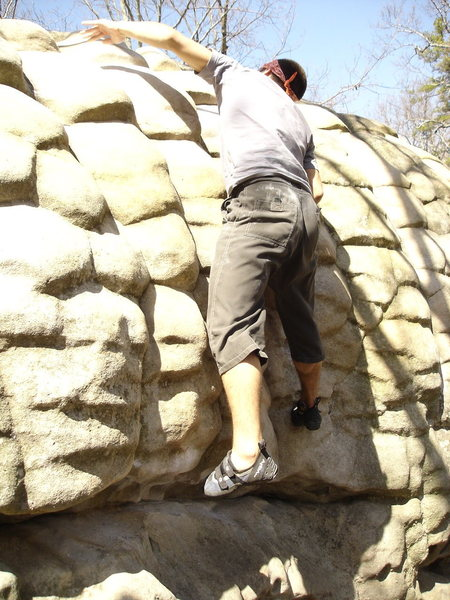 Rock Climbing Photo: Nick S. now climbs in Gyms but this is what I will...