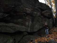 Rock Climbing Photo: Here are some pics. I took them right before dark(...