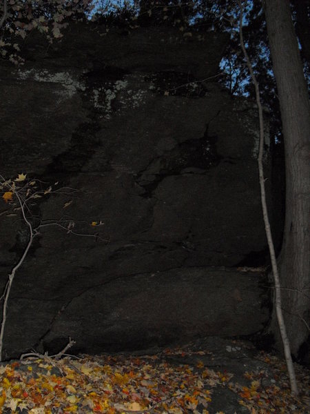 Rock Climbing Photo: This is a slab off to left of the main area.