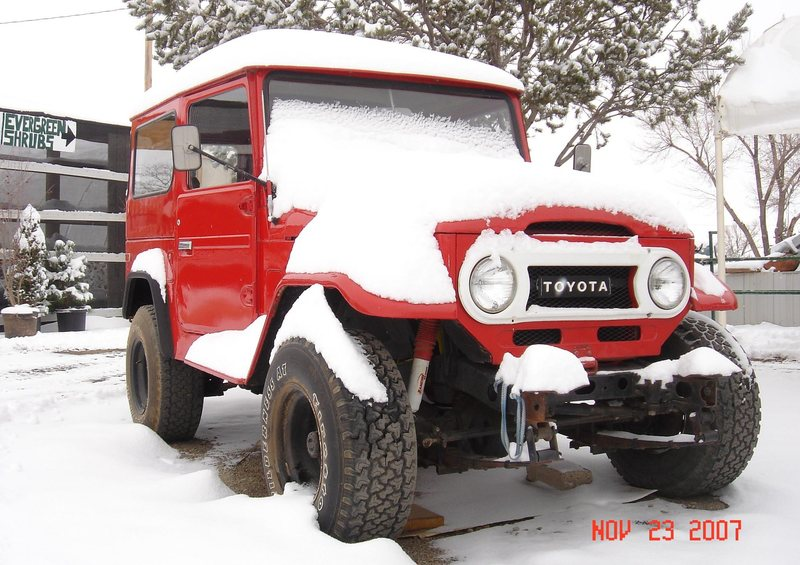 Ultimate Climbing Vehicle<br> Toyota Landcruiser FJ40