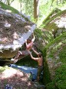 Rock Climbing Photo: Trevor Edwards on Speedbump