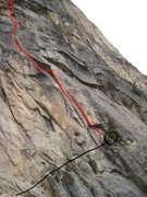 Rock Climbing Photo: This is maybe 5-10 minutes east from the start of ...