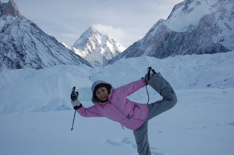 Rock Climbing Photo: K2 base camp, Concordia base camp, Pakistan
