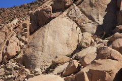 Rock Climbing Photo: Distant Episode, 5.10