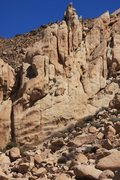 Rock Climbing Photo: Cool looking lower section of the Mary Worth Buttr...