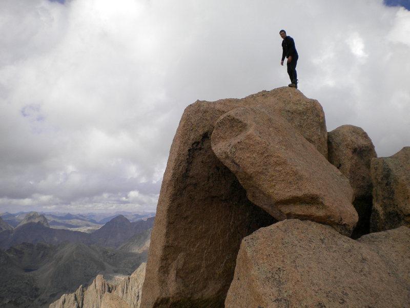 Rock Climbing Photo: Summit of Sunlight