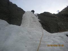 Rock Climbing Photo: Mean Green P2