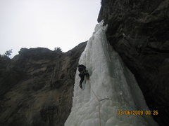 Rock Climbing Photo: Mean Green P4