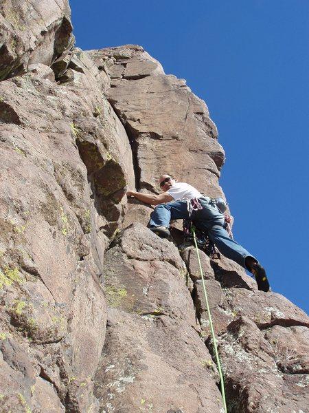 Rock Climbing Photo: Leaning Pillar.