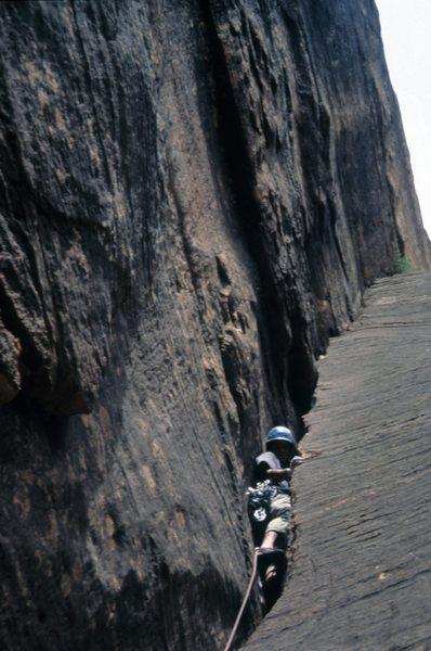 Rock Climbing Photo: Lit up!