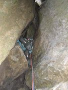 Rock Climbing Photo: The easy bit - P1 (photo by Phil Ashton)