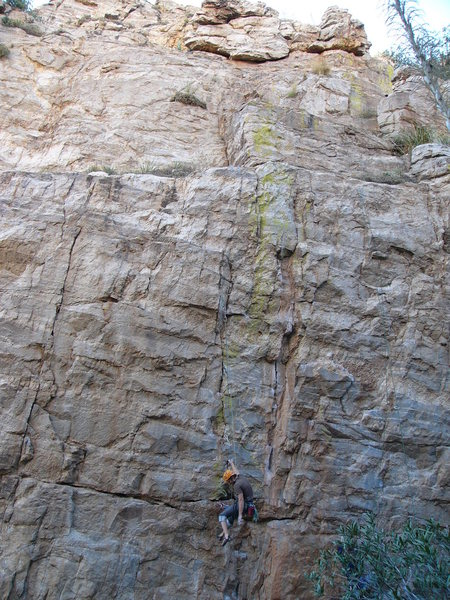Rock Climbing Photo: What happens when you blow the finishing sequence....