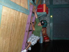 Rock Climbing Photo: Me sending at Disneyland