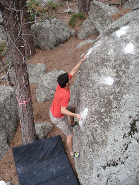 Rock Climbing Photo: Gary on SPAT