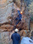 Rock Climbing Photo: The FA.