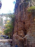 Rock Climbing Photo: A nice crack in Pumphouse