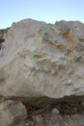 Rock Climbing Photo: Remember to Brush- V1