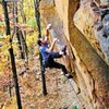 Rock Climbing Arkansas by Cole Fennel