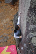 Rock Climbing Photo: She sent a couple goes later.