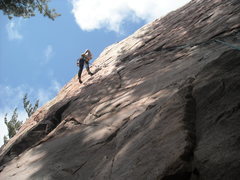 Rock Climbing Photo: getttin spooked on upper d!