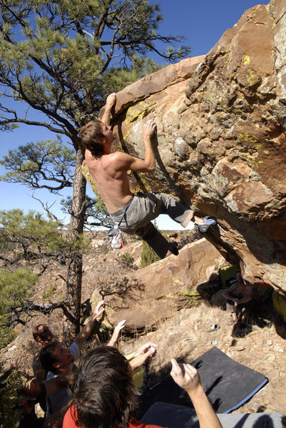 Rock Climbing Photo: Northern New Mexico
