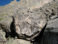 Rock Climbing Photo: This one's in Area B, a bit west of Gorillas...