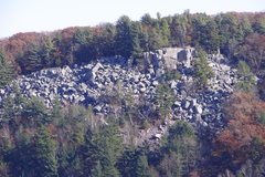 Rock Climbing Photo: The Talus field taken from the Super Slab area on ...