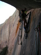 Rock Climbing Photo: Dangle Arch