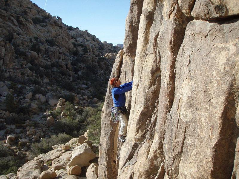 Rock Climbing Photo: Captain Kronos, Joshua Tree