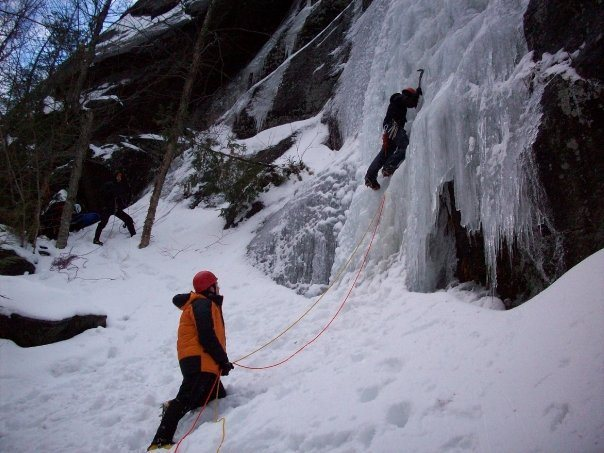 Base of climb - December 2008