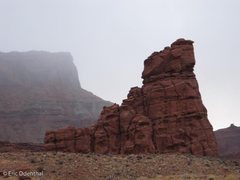 Rock Climbing Photo: from Kane Creek rd.