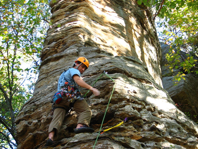 Rock Climbing Photo: The Arrowhead