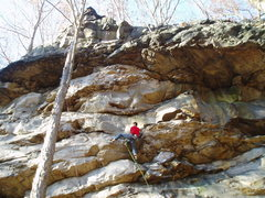Rock Climbing Photo: A perfect fall day...