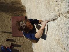 Rock Climbing Photo: Ginger on Pinhead
