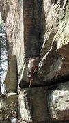 Rock Climbing Photo: The Start of Joe Camel