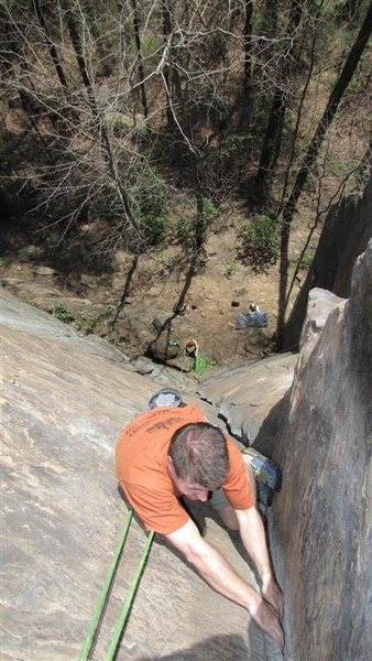 Rock Climbing Photo: The top of Rite of Passage